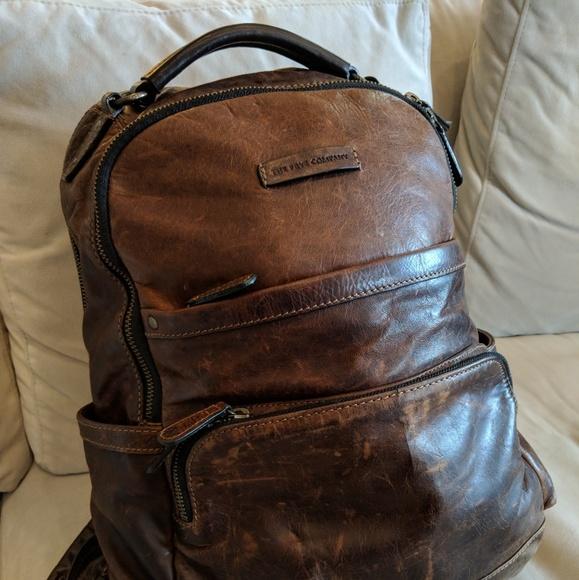 a1af4145dac4 Frye Handbags - Frye Logan Leather Backpack